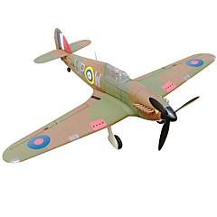 Dynam Hawker Hurricane 1:8 Brushless Eléctrico 50KM/H Quadcopter RC 5 canales 2.4G EPO Khaki Necesita Un Poco de Ensamblaje