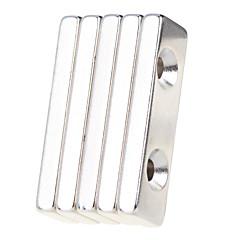 Παιχνίδια μαγνήτες 5 Κομμάτια MM Παιχνίδια μαγνήτες Τουβλάκια Σούπερ Ισχυρή σπανίων γαιών μαγνήτες Executive Παιχνίδια παζλ κύβος για δώρο