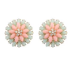 Fashion Double Flower Earrings