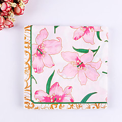 100% virgin pulp 20pcs Lily Wedding Napkins