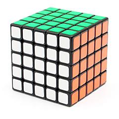 Shengshou® Cube velocidade lisa 5*5*5 Velocidade / profissional Nível Cubos Mágicos Preta Etiqueta lisa mola ajustável ABS