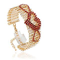 Tennis Bracelets 1pc, Bracelet Fashionable Circle 514 Alloy Jewellery