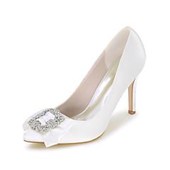 Women's Heels Spring / Summer / Fall Pointed Toe Satin Wedding / Party & Evening / Dress