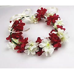 בגדי ריקוד נשים בד כיסוי ראש-חתונה זרי פרחים חלק 1