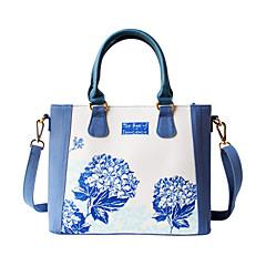 Blume Princess® Damen Leinwand Umhängetasche Blau-1507SXD001