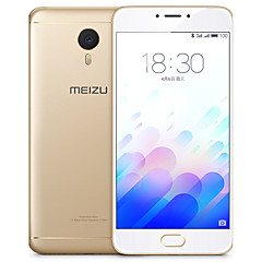 "Meizu m3 note 5.5 "" Android 5.1 Smartphone 4G (Due SIM Octa Core 13 MP 2GB + 16 GB Grigio / Argento)"