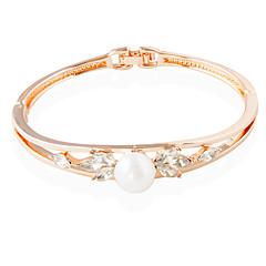 צמידים צמידי טניס סגסוגת Circle Shape אופנתי חתונה תכשיטים מתנות ורד,1pc