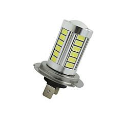 2pçs super brilhante H7 33 SMD 5630 LED carro nevoeiro farol dirigindo lâmpada 12-24V branco