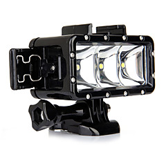Accessories For GoPro,Waterproof Housing Spot Light LED Built-in Flash, For-Action Camera,Gopro Hero1 Gopro Hero 2 Gopro Hero 3 Gopro