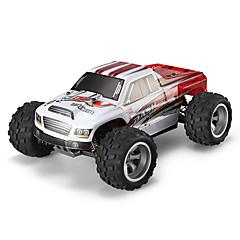 Automobil WLToys A979-B 1:18 Kartáčový elektro RC auta 70km/h 2.4G Červená / Modrá Hotový modelDálkové ovládání auta / Dálkové