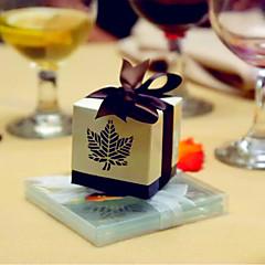 12 조각/세트 부탁 홀더-큐빅 카드 종이 호의 상자 호의 가방 호의 틴과 페일 캔디통과 병 컵케잌 포장과 박스 기프트 박스 쿠키 포장백 답례품 콘모양 포장 비 개인화