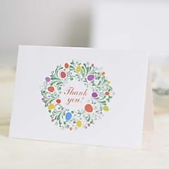 Não personalizado Dobrado no Topo Convites de casamentoFan programa / O menu do casamento / Cartões de convite / Cartões de Obrigado /