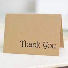 לא מותאם אישית קיפול עליון הזמנות לחתונהערכות הזמנות / מעטפה / תכנית מאוורר / כרטיסי Thank you / כרטיסי מענה / לדוגמא הזמנה / כרטיסי ברכה