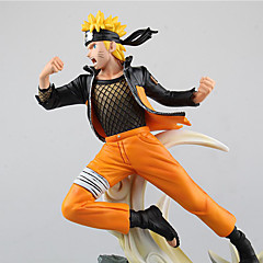 Cosplay Naruto Uzumaki PVC 31*19*31CM Anime Action Figurer Modell Leker Doll Toy