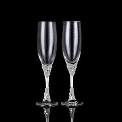 זכוכית נטולת עופרת חלילי קלייה-2 חתיכה / סט