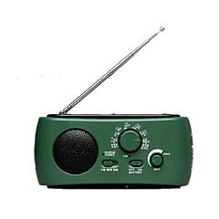 équipement de plein air les personnes âgées avec la radio