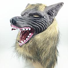 Halloweenské masky / Masky maškarní vlk Head Potřeby na svátky Halloween / Plesová maškaráda 1PCS