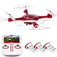 Drone SYMA X5UW 4CH 6 Eixos 2.4G Quadcóptero RCIluminação De LED / Retorno Com 1 Botão / Auto-Decolagem / Modo Espelho Inteligente / Vôo