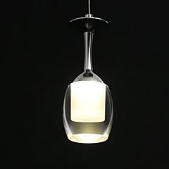 lightmyself® 3W LED csésze csillár fényében borospohár medál lámpa nappali bár szalon étkező