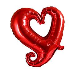 Ballonnen Hartvormig Aluminium 5 tot 7 jaar
