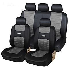 autoyouth i 11 deler sette mote bilsete dekker universell kompatibel med de fleste kjøretøy setetrekk enkel å installere