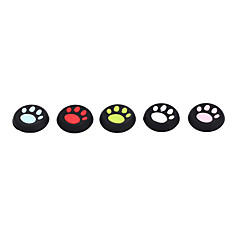 10pcs/lot Cat's Paw Silicone Cap Joystick Grip For PS4 PS3 Xbox 360 Xbox one Controller