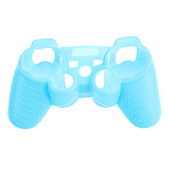 PS3-controller Noctilucent beschermhoes Silicone Skin tas