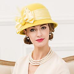 נשים נוצה ריינסטון צמר בד כיסוי ראש-חתונה אירוע מיוחד קז'ואל קישוטי שיער כובעים חלק 1