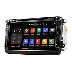 dab android 5.1 carro sistema de DVD player multimídia Wi-Fi 8 polegadas para o foco VW MAGOTAN 2007-2011 golf 5 de golfe de 6 caddy polo