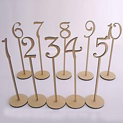 Tre Tabell Senter Pieces-Ikke-personalisert Bordkort Holdere 10 Piece / Set