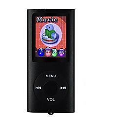 8GB 200 timer sport digital mp3 spiller musikk vedio spillere hifi stereo radio med en øretelefon og en usb-kabel
