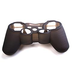 Защитный силиконовый чехол для геймпада PS3 (черный)