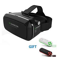 virtuell virkelighet headset vr shinecon 3d film spill briller for smarttelefon WHI blåtann-gamepad