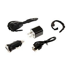 bluetooth fone de ouvido fone de ouvido com usb carro cabo do carregador nos adaptador para ps3 / telefone inteligente