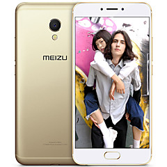 "MEIZU MX6 5.5 "" Android 5.0 4G Smartphone (Dual SIM Deca Core 12 MP 4GB + 32 GB Gold)"