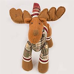 Spielzeuge Weihnachtsdeko Elk Zeichentrick / lieblich / Gute Qualität / Modisch Urlaubszubehör Für Jungen / Für Mädchen Gewebe