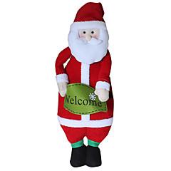 크리스마스 장난감 선물 백 홀리데이 용품 크리스마스 텍스타일 실버
