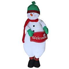 크리스마스 장난감 선물 백 홀리데이 용품 크리스마스 텍스타일 아이보리