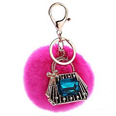 Key Chain 球体 メタル プラッシュ