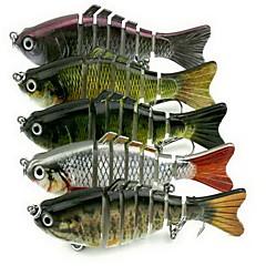1 kpl Kova syötti Uistin Vaappu-uistin g/Unssi mm tuuma,Kova muovi Merikalastus Makean veden kalastus