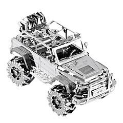 3D építőjátékok Ajándék Építőkockák Építő játékok Autó Fém 14 Évek és felfelé Pink Játékok