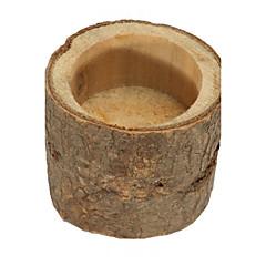 Dřevo Tabulka Center Pieces-Nepřizpůsobeno držáky jmenovek 1 Piece / Set