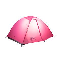 MOBI GARDEN® 2 사람 텐트 더블 베이스 자동 텐트 원 룸 캠핑 텐트 옥스퍼드 방수 호흡 능력 자외선 저항력 비 방지 바람 방지 따뜻함 유지 폴더 휴대용 울트라 라이트 (UL)-하이킹 캠핑 여행 야외