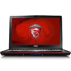 MSI gaming laptop 6QG-1071XCN backlit 15.6 inch Intel i7 Quad Core 8GB RAM 1TB 128GB SSD Windows10