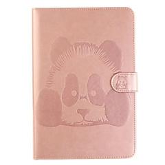 Pro Pouzdro na karty se stojánkem Flip Carcasă Oboustranný Carcasă Animák Pevné PU kůže pro Apple iPad Mini 4 iPad Mini 3/2/1