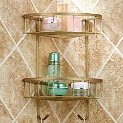 Fürdőszobai polc / Antik réz Antik