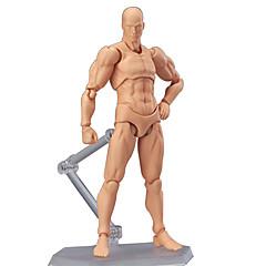 6 Stil Körper chan Körper kun blasse Männer 1pcs Hautfarbe 15cm figma bandai PVC-Action-Figur figma Männer
