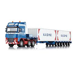 Camion Jouets Jouets de voiture 1h50 Métal ABS Plastique Bleu Maquette & Jeu de Construction