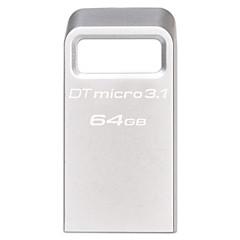 kingston dtmc3 64GB USB 3.1 flash drive metal ultrakompakt