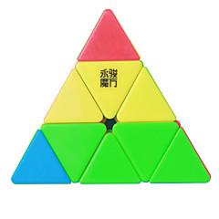 Tasainen nopeus Cube pyraminx Nopeus Professional Level Rubikin kuutio Anti-pop säädettävä jousi ABS